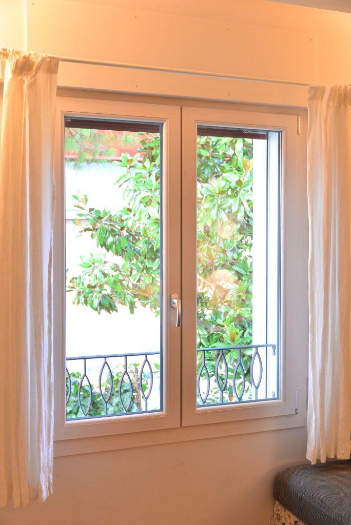 finestre a battente in pvc roma